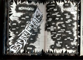 Escape the Fate altered music bookpage2 by RedSilence33