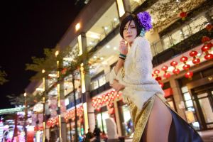 Ada Wong for Chinese new year by UchihaSayaka