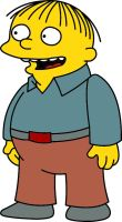 Ralph Wiggum 01 - Simpsons by frasier-and-niles