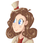 Lady Layton icon by Theultimate-shadow