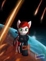 My Little Pony/Mass Effect 3 by Daker3
