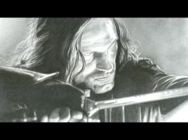 aragorn charcoal by tapuklok