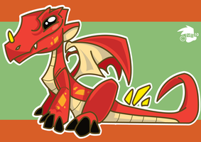 Baby Dragon by spiers84