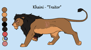 Khaini - a traitor to us all by Dragons-Stuff