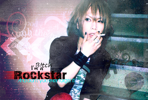 Takeru - Rockstar by Crimson-Truth