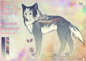 Ref Sheet: Aponi by Snow-Body