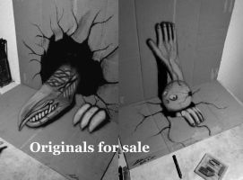 Originals for sale (3D Drawing) by NAGAIHIDEYUKI