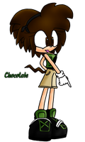 Chocolate the Echidna by Shadowhedge1001