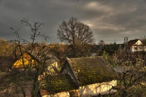 autumn afternoon hdr by piotrkol91