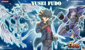 Yusei Fudo Wallpaper by jcxtreem