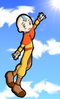 Aang the Last Airbender by jiru-chan