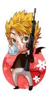Chibi Hiruma by 2beats