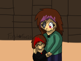 Mother and son by firstarfan20