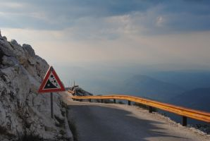 On top of Sveti Jure by Relphien