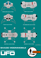 Gerry Andersons UFO SHADO Moon Mobile by ArthurTwosheds