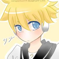 Kagamine len- First attempt by naruphantomhive