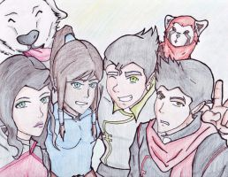 The Gang by Marianne2O