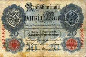 banknotes - GERMANY no.1 by gapystock