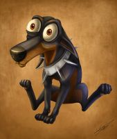 Little Pinscher by Autlaw