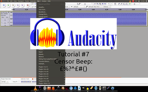 Tutorial #7 Censor Beep by WickedNinjaPresents