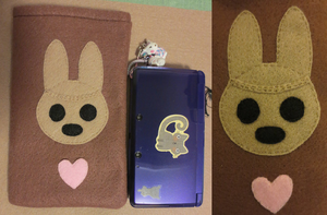SOLD OUT - Coco 3DS Pouch (One Size Fits All) by rowanasabredancer