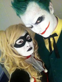 Mister j and harley by rew-mysterio