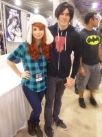 Florida Supercon '13: Wendy and Robbie by NaturesRose