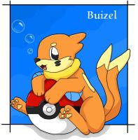 Buizel for Marquis2007 by Kitsune-wolf