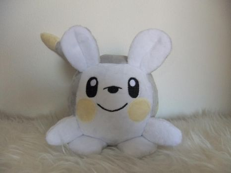 TOGEDEMARU-new pokemon plush by Masha05