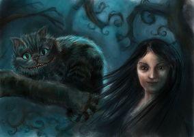 Cheshire and me by adanethiel