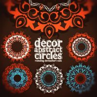 Amazing Decorative Circles by Romenig