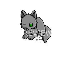 Chibi WolfLineart -PayToUse- ~ONLY 10 PTS~ by Twine-Adopts