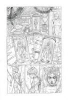 Cyberpunk page  -  pencil by IpernovaOfMine