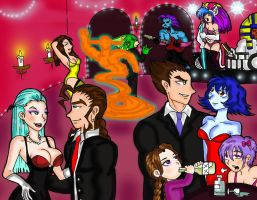 Party at Morrigan's by punxsie