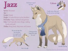 Jazz Ref Sheet by PrinzeBurnzo