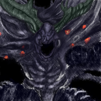 Manus, Father Of The Abyss by SymphonyP