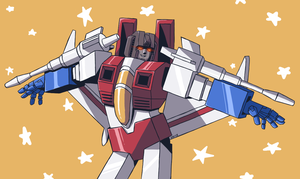 Seeker Diva: Starscream by Kriegswaffle