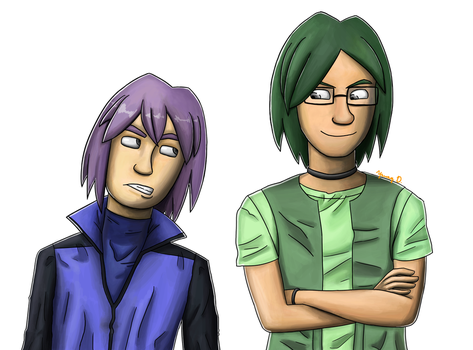 Travels of the Trifecta: The Geek and the Grump by Yanang