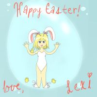 Happy Easter From Lexi by catz537