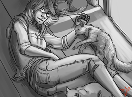 Cat-nap by smokewithoutmirrors
