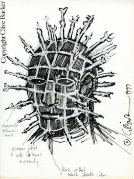 Pinhead Illustration 3 by CliveBarker