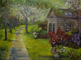 Country house miniature [copy] by ArwendeLuhtiene