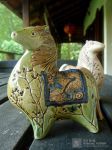 Horse Pottery by Tenmoku by saehow