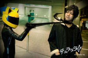DRRR V - Celty Strangles by ValeforHo
