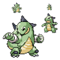 Fakemon: Stegotops N' Herbidon by onewafighter1