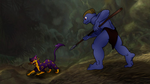 MACHOKE AS TARZAN 2: The Battle Against Sabor by PoKeMoN-Traceur