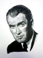 James (Jimmy) Stewart by avintagedreamer