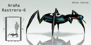 spider robot by Mely-Val