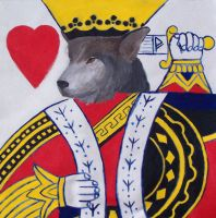The King of Hearts by tytoalba