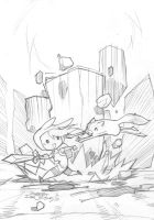 Fionna and Cake #2 by Banzchan